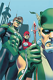 Justice League of America: Rise and Fall special