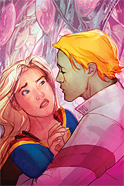 Prima bozza per la cover di Supergirl (vol.IV) #52