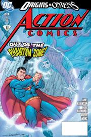 Action Comics #874, uno degli albi in palio! Copertina di Aaron Lopresti