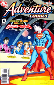 Adventure Comics (vol.III) #0 Copertina di Aaron Lopresti