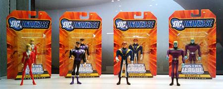 Una foto delle action figures legionarie in uscita per la Mattel. Clicca sull'immagine per ingrandirla