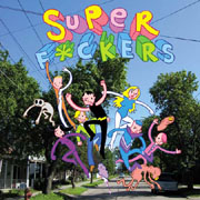 Superf*ckers #1 (Top Shelf) Copertina di James Kochalka