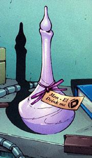 """""""Mon-El, bevimi!"""" (disegno di J. Pina)"""