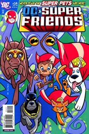 Super Friends (vol.II) #14 Copertina di J. Bone