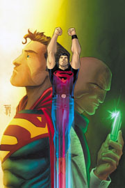 Copertina variant di Adventure Comics #1, disegni di Francis Manapul. Clicca sull'immagine per ingrandirla