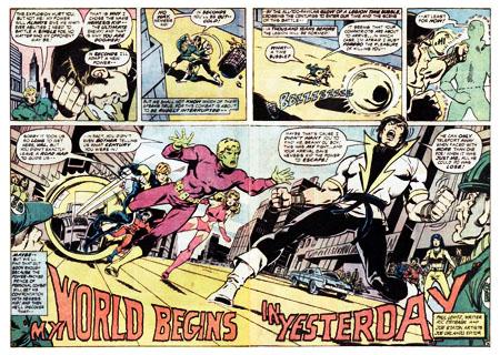 Immagine da Karate Kid #1 (1976), disegni di Ric Estrada e Joe Staton