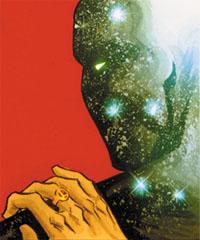 """Dettaglio della copertina di """"Adventure Comics"""" (vol.III) #1, disegni di Francis Manapul"""