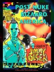 """""""Delinquent Jimmy Olsen"""", disegno di Brendan McCarthy"""