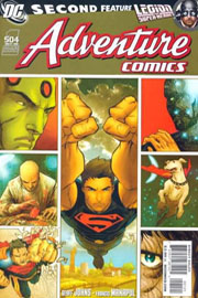 "Copertina variant di ""Adventure Comics"" (vol.III) #1"