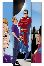 "Mon-El e Jimmy Olsen in un'anteprima di ""Codename: Patriot"""