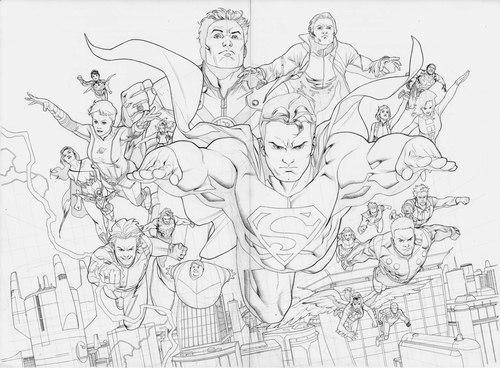 """Illustrazione di Clayton Henry, da """"Adventure Comics"""" (vol. III) #1"""