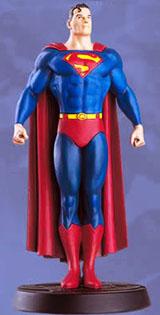 La statuetta in piombo di Superman della Eaglemoss