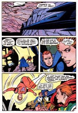 Tavola da Superboy (vol.I) #172, disegni di George Tuska