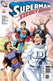 "Variant Cover di ""Superman: Secret Origin"" #2"