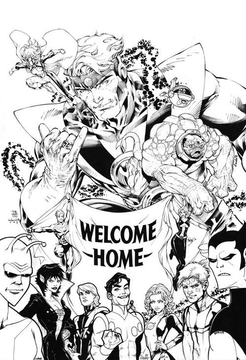 Il WildStorm Studio benedice il ritorno di Paul Levitz sulla Legione