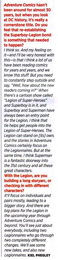 Estratto da Wizard Magazine #217, Novembre 2009