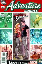"Variant cover di ""Adventure Comics"" (vol.III) #2"