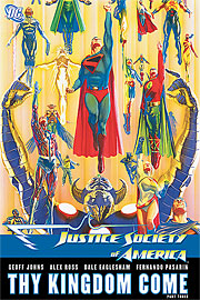 JSA vol.4: Thy Kingdom Come Part Three TP