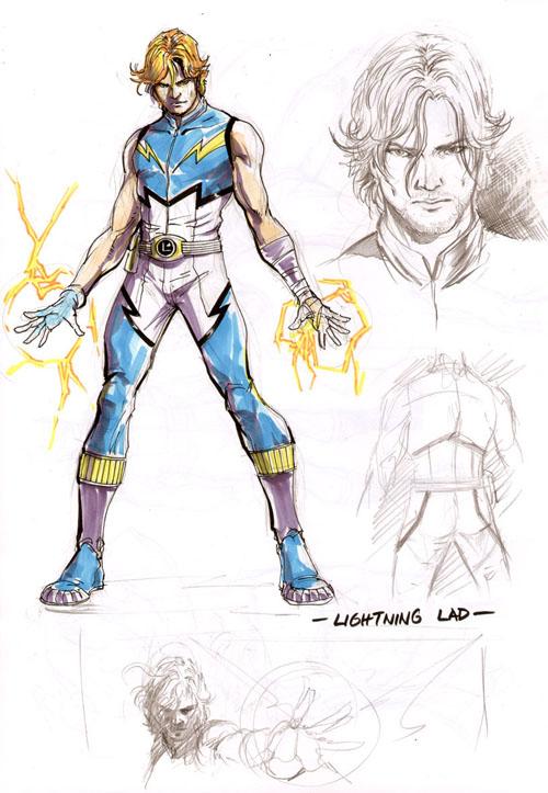 Lightning Lad di Yildiray Cinar