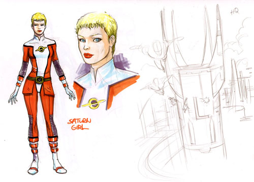 Saturn Girl di Yildiray Cinar