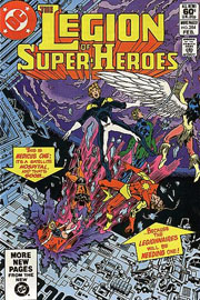 Legion of Super-Heroes (vol.II) #284