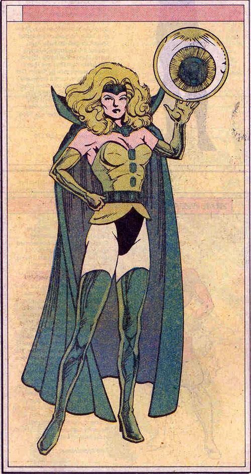 """Un'illustrazione di Colleen Doran da """"Who's Who in the Legion of Super-Heroes"""" #2 (1988)"""