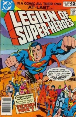 Legion of Super-Heroes (vol.II) #259