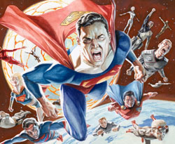 Superman: War of the Supermen #0