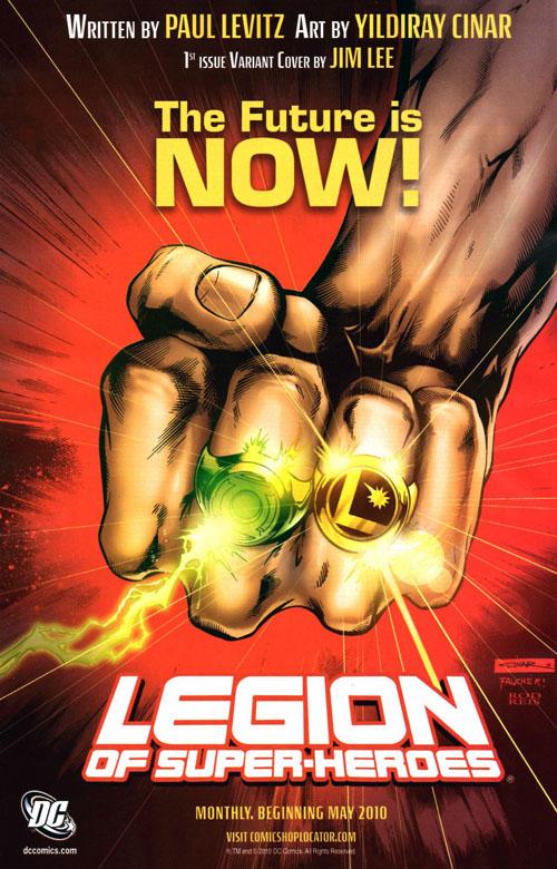 """Pagina di pubblicità tratta da """"Green Lantern"""" (vol.IV) #53, del 21-04-2010"""