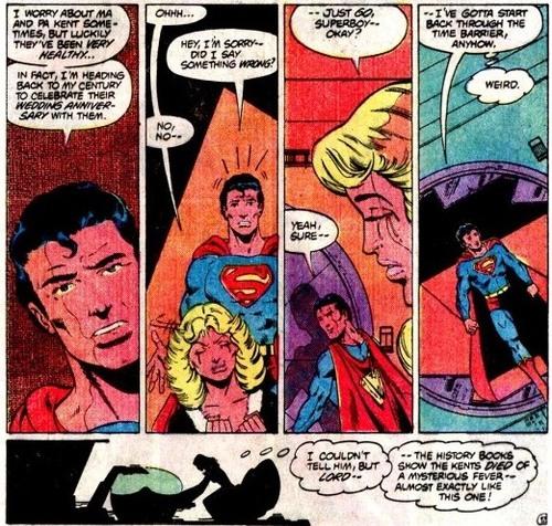 """Sequenza da """"Legion of Super-Heroes"""" (vol. II) #291"""