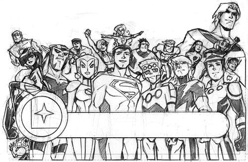 La Legione dei cartoons vista da Philip Moy