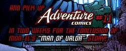 """Un frammento dall'ultima tavola di """"Superman"""" #699"""