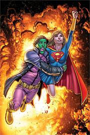 Versione finale della cover di Supergirl (vol.IV) #52