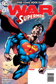 Versione finale della cover di War of the Supermen #0