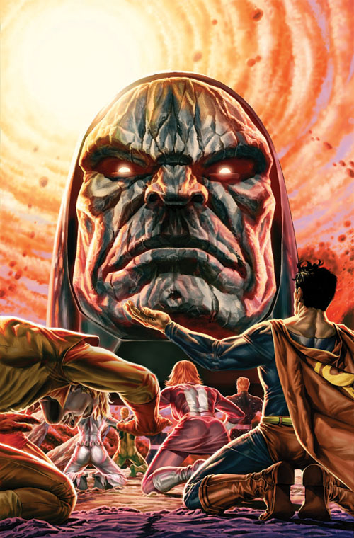 Variant cover di Adventure Comics (vol.III) #12, di Lee Bermejo
