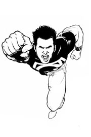 Superboy visto da Pier Gallo (Clicca per ingrandire)