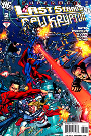 Parte 5: Superman - Last Stand of New Krypton #2
