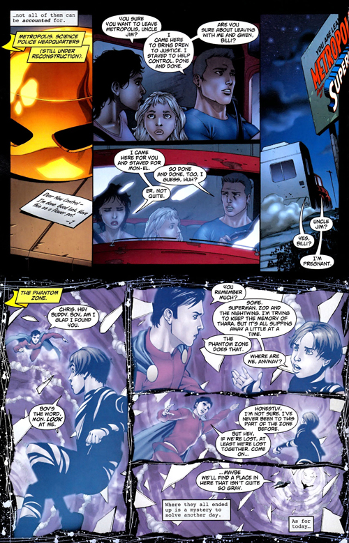 "Tavola da ""Superman: War of the Supermen"" #4 (2010)"