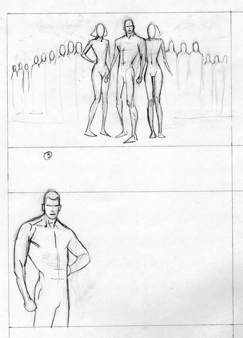 La Legione post-Ora Zero vista da Kevin Nowlan: Fase 1 (di 5)
