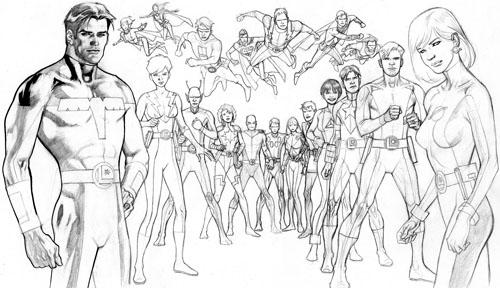 La Legione post-Ora Zero vista da Kevin Nowlan: Fase 4 (di 5)