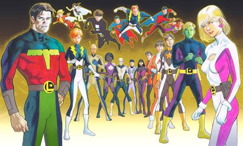 La Legione post-Ora Zero vista da Kevin Nowlan: Fase 5 (di 5) - Clicca per ingrandire