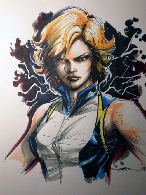Lightning Lass vista da Yildiray Cinar