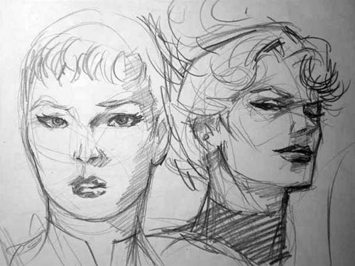 Studio di Saturn Girl e Saturn Queen, di Yildiray Cinar