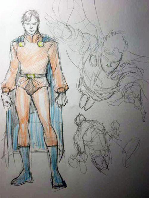 Studio di Mon-El, di Yildiray Cinar