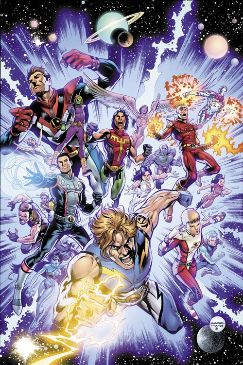 "Copertina di ""Legion of Super-Heroes vol. 1: The Choice HC"""