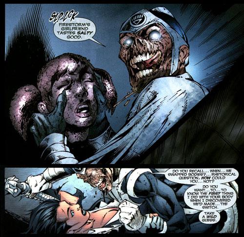 """Vignette da """"Justice League of America"""" (vol.II) nn. 39 e 40, disegni di M. Bagley (2009)"""