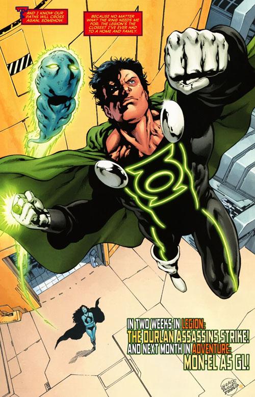 """Tavola da """"Adventure Comics"""" #521, disegni di Geraldo Borges"""