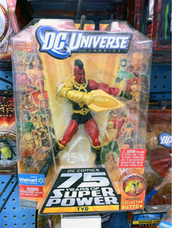 DC Universe Classics Wave 14: Tyr
