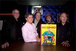 Da sinistra: Marv Wolfman, Paul Levitz, Mark Evanier, Len Wein e Don Glut