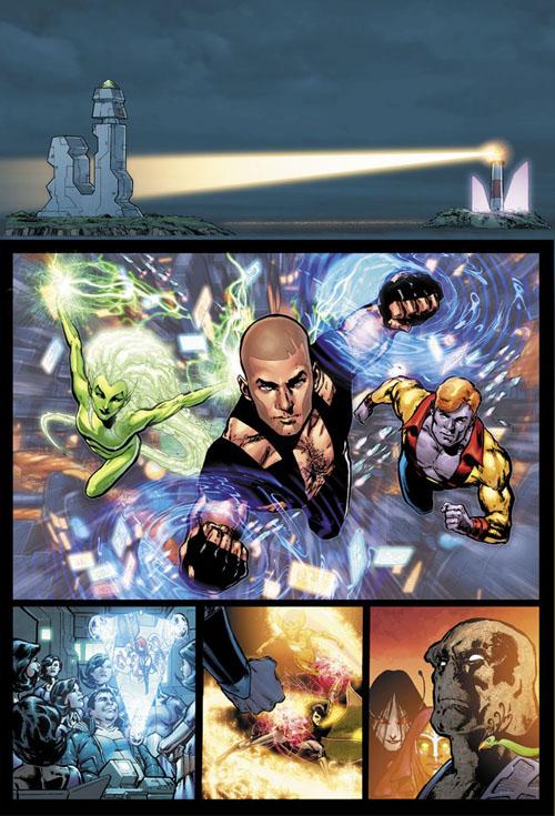 "Anteprima di ""Adventure Comics"" #523, disegni di Phil Jimenez"